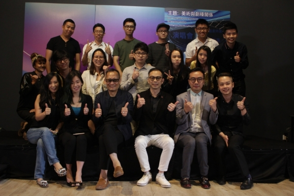 Master Class of Fine Arts in Film & Television 影视剧种的美术讲座