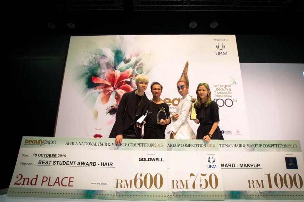 APHCA National Hair & Makeup Competition Award 2015
